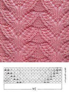 Узор для вязания № 1537   Схемы. СПИЦЫ   Постила