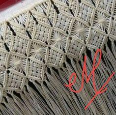 macrame and weaving, I think Macrame Design, Macrame Art, Macrame Projects, Macrame Knots, Micro Macrame, Willow Weaving, Hand Weaving, Rope Crafts, Diy And Crafts