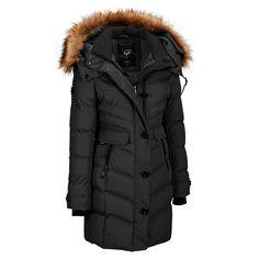 Noize Puffy Walker w/Removable Faux-Fur Trim Hood Was: $600.00                     Now: $339.99