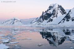 Antarctic sunset Photo by Daisy Gilardini — National Geographic Your Shot