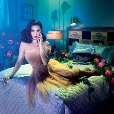 #TBT to when @KatyPerry wore the first ever #MIKAELD collection piece in the campaign for #GHD shot by the legendary @David_LaChapelle  #KatyPerry #DavidLaChapelle #Campaign