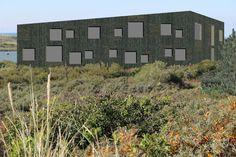 Dick van Aken Architectuur duinpaviljoen Kennemerstrand Noordzee Dune house North sea