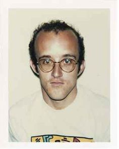 Keith Harring by Andy Warhol