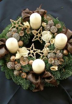 advent adventi koszorú karácsony tél DIY csináld magad Homemade Christmas, Diy Christmas Gifts, Rustic Christmas, Christmas Home, Christmas Advent Wreath, Xmas Wreaths, Christmas Centerpieces, Xmas Decorations, Christmas In England