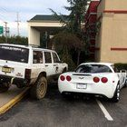 Kyle DeMattia posted a picture of his response to a poorly parked Corvette