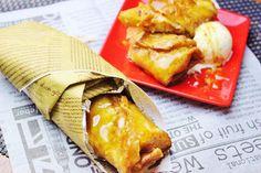 話題の蕎麦カフェから冬の蕎麦スイーツ登場!カリっもちっアツアツの《蕎麦粉のクリスピーロール~焼き林檎とクリームチーズ~》提供開始!