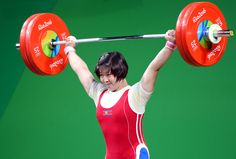 제31차 올림픽경기대회에서 우리 나라의 림정심, 리세광선수들 금메달 쟁취