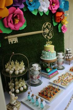 Alice in Wonderland Party by Ashleigh Nicole Events | CatchMyParty.com