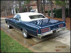 1973 Pontiac Grandville in Admiralty Blue