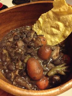 The Easiest Black Bean Soup You'll Ever Make #recipe