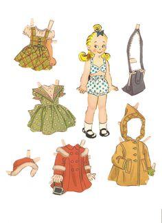 Miss Missy Paper Dolls: Blondie 1949-Cookie