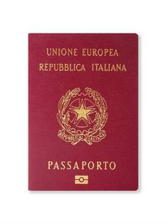 Pasaporte electrónico italiano (Getty Images).