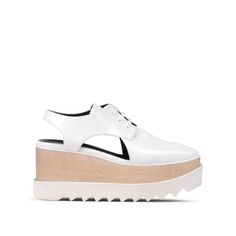 Shop the White Elyse Cut Out Shoes by Stella Mccartney at the official online store. Discover all product information.