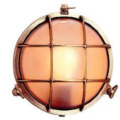 Bullseye wandlamp messing 21,5cm Ø - Designlampenstore.nl