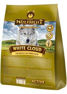 Wolfsblut White Cloud Active: Getreidefreies Hundefutter für aktive und vitale Hunde #wolfsblut #healthfood24 #wolfsbluthundefutter