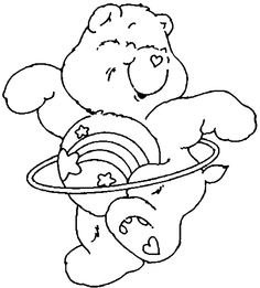 wish bear coloring pages - photo#12