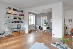 living room project Swedish crib 4 Swedish Crib Defined by Meticulously Renovated Interiors and Playful Decorations