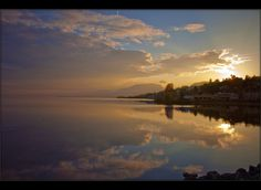 """Allons voir un coucher de soleil"" - Spring Twilight-Time  - Neuchâtel, Switzerland - Flickr - Photo Sharing!"