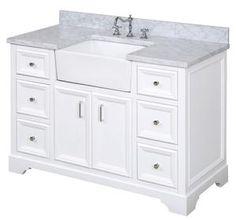 Vanity Set, White Vanity, Vanity Cabinet, White Farmhouse Sink, Farmhouse Vanity, Farmhouse Style, Farmhouse Windows, Farmhouse Bathroom Sink, Single Bathroom Vanity