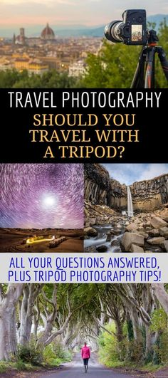 An Essential Guide to Travel Tripods. A travel tripod can help you take better vacation photos without a lot of effort. This travel photography article covers what a tripod does, how it can improve your photography, & what situations are best suited for a Travel Photography Tumblr, Photography Beach, Photography Articles, Photography Tips For Beginners, Nature Photography, Photography Backdrops, Photography Classes, Iphone Photography, Landscape Photography