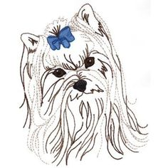 quilting designs with yorkies - Google Search
