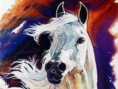 Painting watercolor horse ideas for 2019 Watercolor Horse, Watercolor Animals, Watercolor Paintings, Watercolors, Horse Drawings, Art Drawings, Arte Equina, Equine Art, Horse Pictures