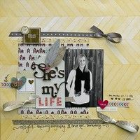 A Project by Leslie Ashe from our Scrapbooking Gallery originally submitted 01/02/13 at 09:36 AM