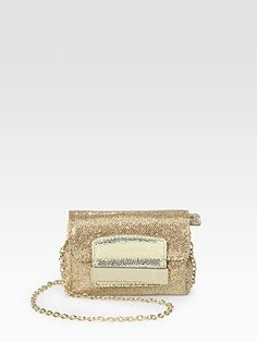 Jimmy Choo - Glitter Mini Bag - Saks.com