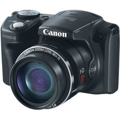 awesome Canon PowerShot SX500 IS 16.0 MP Digital Camera with 30x Wide-Angle Optical Image Stabilized Zoom and 3.0-Inch LCD (Black) (OLD MODEL)