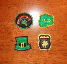 St.Patricks Day Felt Pieces Designs for by NewfoundApplique, $3.99