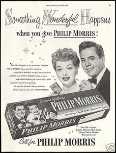 Amazing how many cigarette ads/commercials there were back in the day.  I've been watching a lot of MeTV lately and everyone smokes, men & women; in the office, in the car, on the front porch, at dinner, it's unreal!