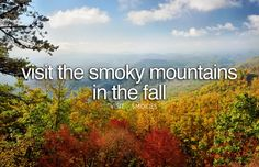 Witness the Smoky Mountains Fall Foliage