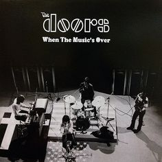THE DOORS - LP When The Music Is Over
