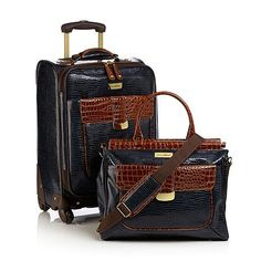 Samantha Brown First Class Collection 2piece Set  NAVY BLUE * This is an Amazon Affiliate link. See this great product.
