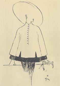 Fashion Illustration by Rene Gruau