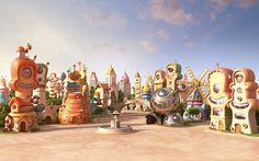 Happy City Mc Donald's by Nikopicto , via Behance