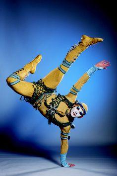 Power track - breakdance at Cirque du Soleil Alegria