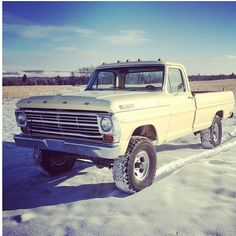 Have an old truck :)
