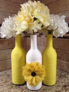 60+ Amazing DIY Wine Bottle Crafts - Crafts and DIY Ideas #WineIdeas
