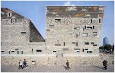 Ningbo Historic Museum. Wang Shu (Amateur Architecture Studio), 2009. Ningbo, China.