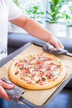 Kids Pizza, Tzatziki, Cebu, Hawaiian Pizza, Vegetable Pizza, Health Fitness, Food And Drink, Dinner, Vegetables