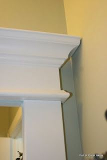 Framing a builder grade mirror
