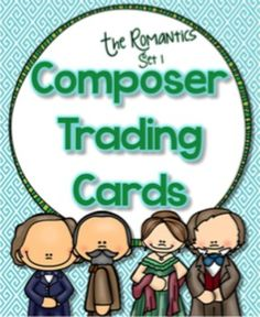 Classical Composer Trading Cards | Education World