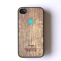 Ordered this from Fab.com! Apple Logo iPhone 4/4S Case Mint brown, tech & gadgets, cases & protection