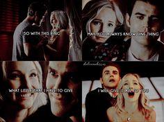Vampire Diaries Funny, Vampire Diaries Cast, Vampire Diaries The Originals, Stefan E Caroline, Caroline Forbes, Popular Movie Quotes, Tv Series, Netflix Series, Bonnie Bennett