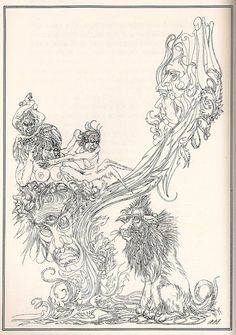 from 'The Great God Pan' by Arthur Machen, illustrated by Austin Osman Spare