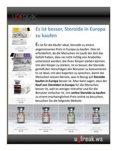 Es ist für die Käufer ideal, Steroide zu einem angemessenen Preis in Europa zu kaufen. Dies ist erforderlich, da die Menschen im Laufe der Zeit das Gefühl haben, dass sie nicht richtig von Anabolika unterstützt werden, die ihren Körper stärken können. Um den Körper zu stärken, ist es besser, die Steroide gemäß den Vorschlägen der Benutzer zu konsumieren. Es ist ideal, mit den Experten zu sprechen, damit die Menschen wissen können, was in Bezug auf Steroide kaufen in Europa besser ist. Man…