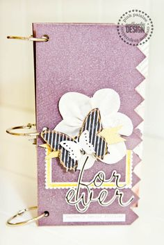 loving everything about this mini book that jennifer evans created using COLOR SHINE and the new pink paislee artisan collection!