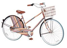 So pumped for the Missoni for Target line. I just might have to buy this bike