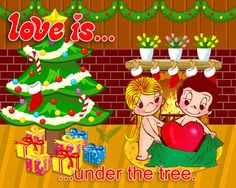 love is.... Christmas time!